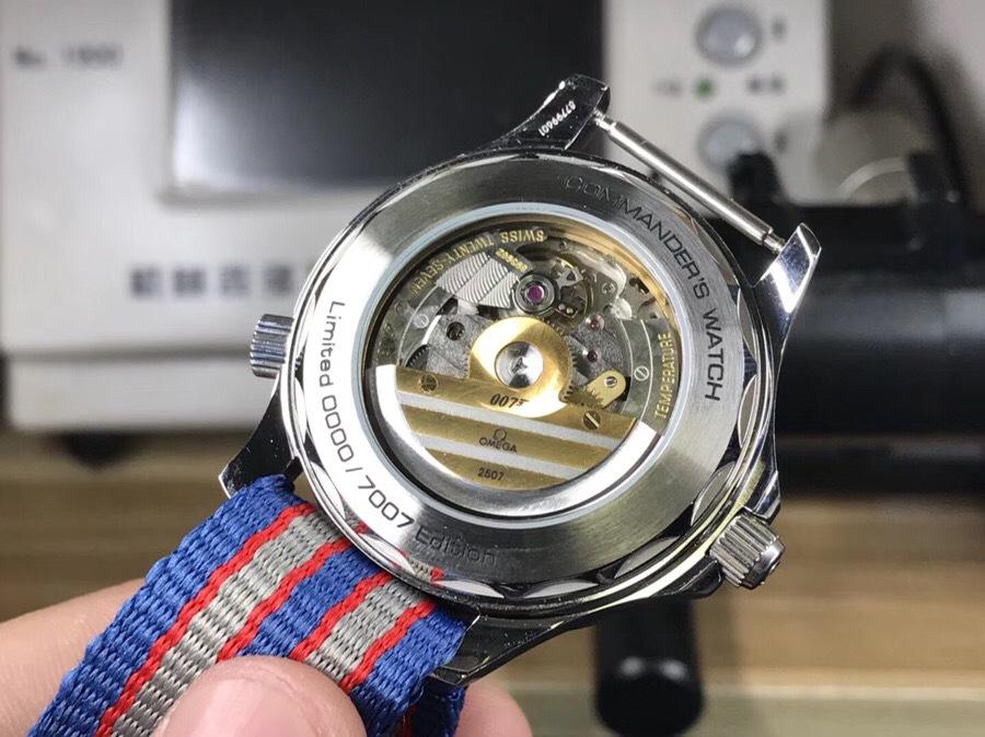 siri说表:ur厂欧米茄海马指挥官007腕表限量版图片