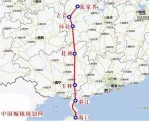 拟按时速350公里标准建设 已被列入