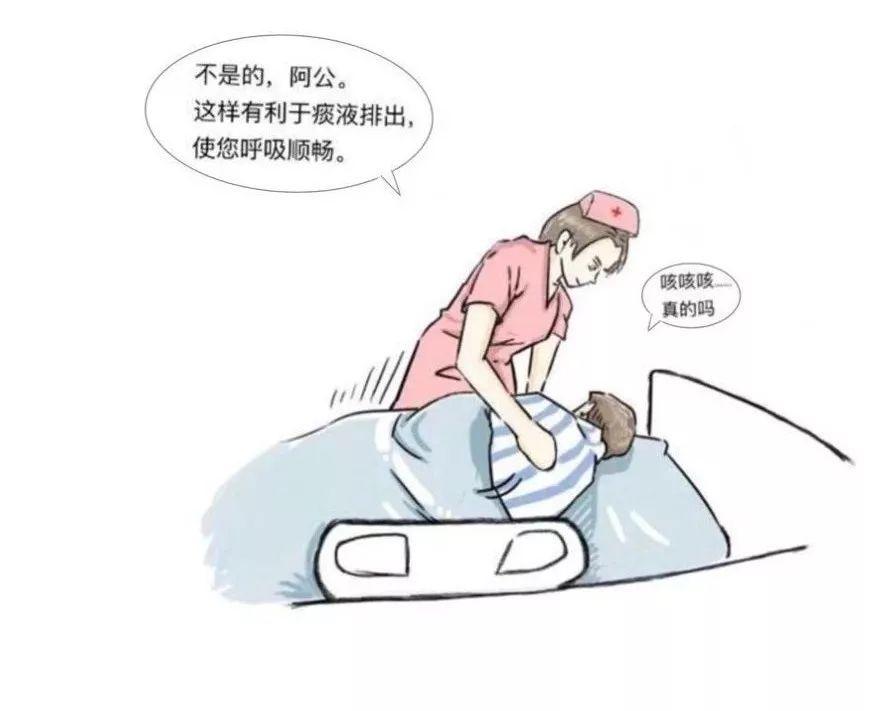 【漫画】icu翻身拍背小故事图片