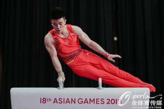 亚运会男子体操个人全能 林超攀为中国夺得金牌