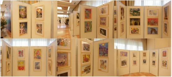 顶级政要观摩团莅临东京国际儿童画展图片
