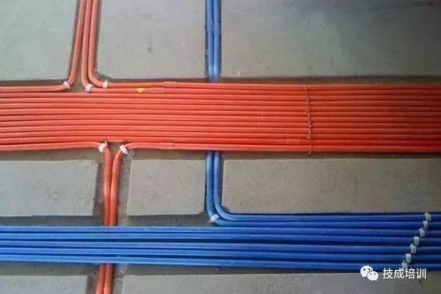 电工老师傅常用的电线穿管方法,安全实用!
