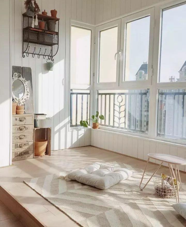 谁说阳台只能用来晾衣服?学会布置,它可以顶一间房!插图(1)