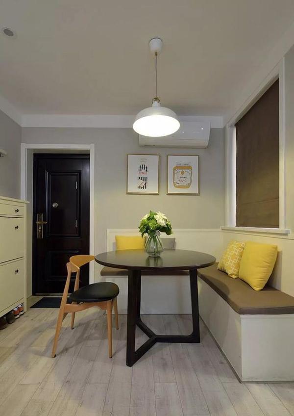 襄阳105平米两室老房改造北欧风格装修,襄阳江水平装修案例
