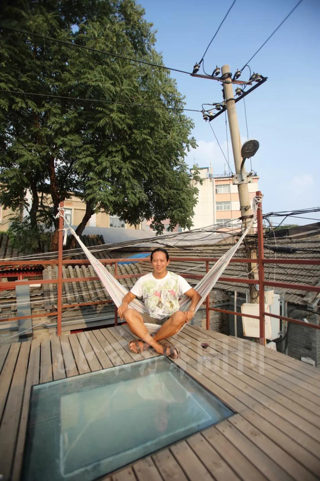"""这位""""网红界鼻祖""""走遍天涯,最后还是在北京胡同里安了家"""