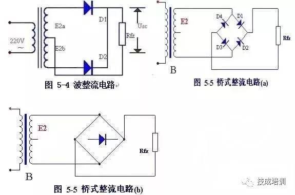 电工必知!基本电子电路图!
