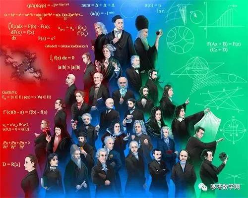 数学大师金字塔中的人物他们都是谁?