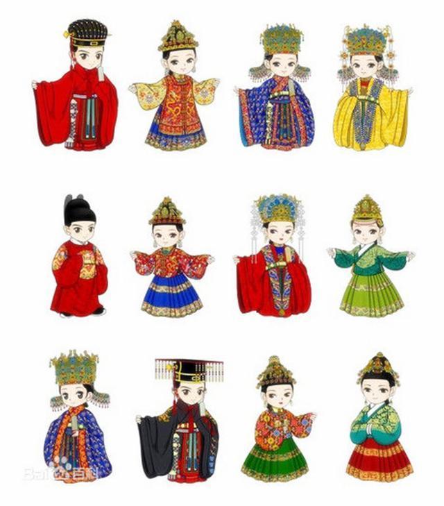 古代皇帝穿衣服很不简单