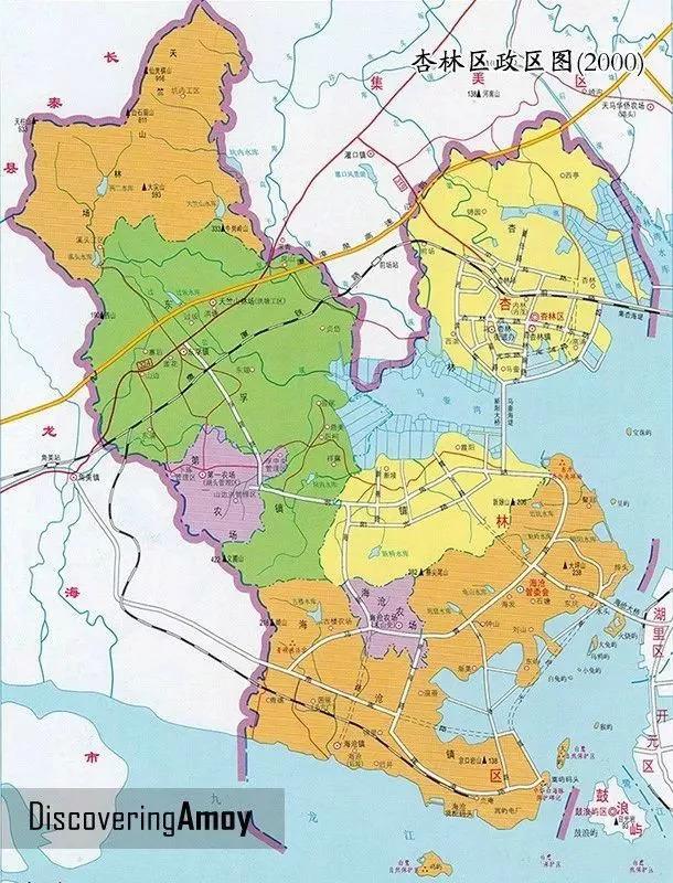 (图:手绘厦门地图)