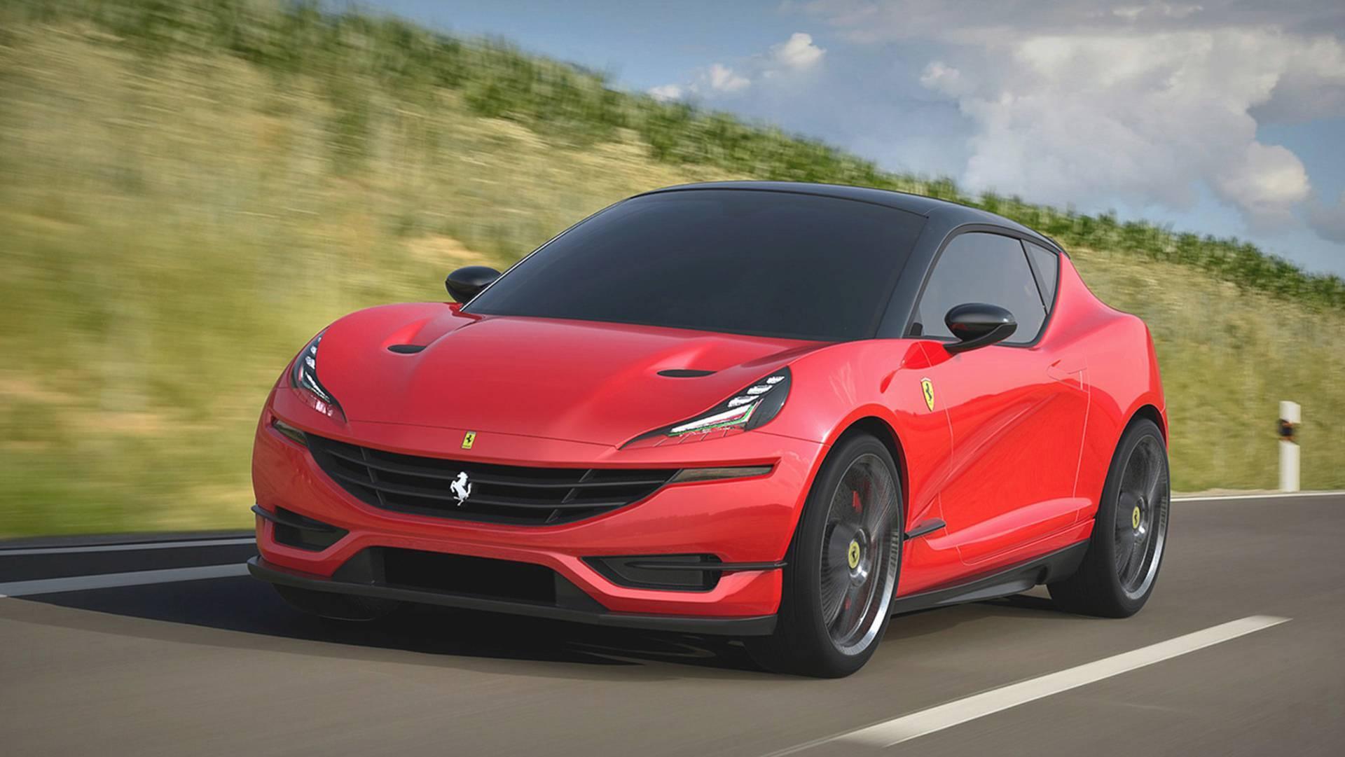 法拉利新车尺寸堪比大众高尔夫!搭载V6发动机你会喜欢吗?