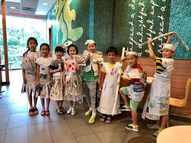 """杭州文三街小学""""飞扬小分队"""" 倡导低碳澳门金沙送彩金、科学利用垃圾"""