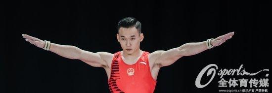 亚运会体操男团决赛 中国队力压日本队轻松夺冠