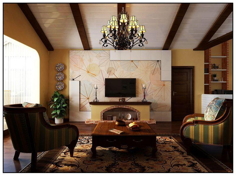 电视背景墙装对了,客厅怎样都是好看的!
