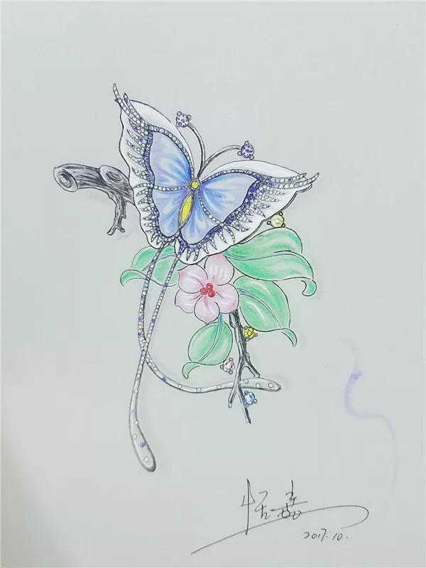 2018年10月20日-27日珠宝首饰手绘技法,开启珠宝设计师之门