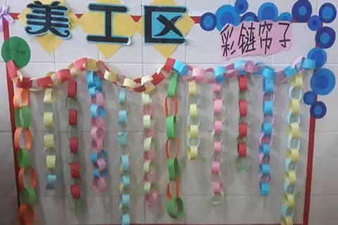 开学专用 美工区墙面 把美工区的墙面设计的美美的,孩子们才能爱上
