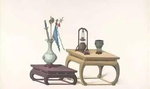 清代手绘家具图,美到骨子里!