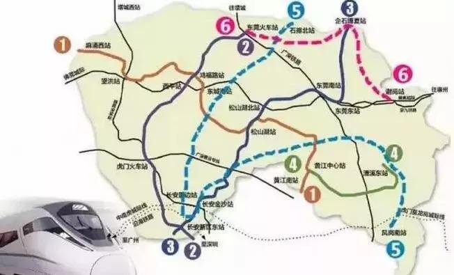 东莞新地铁9月前开建,3条地铁经过松山湖,将对接广深佛惠四市!