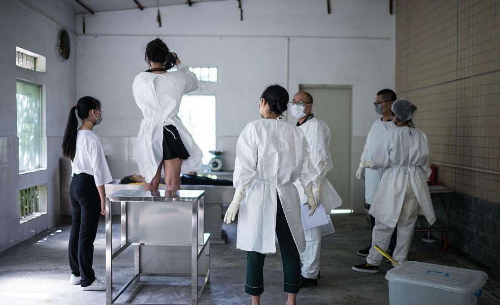 解剖上千具尸体女法医:我们是正常人