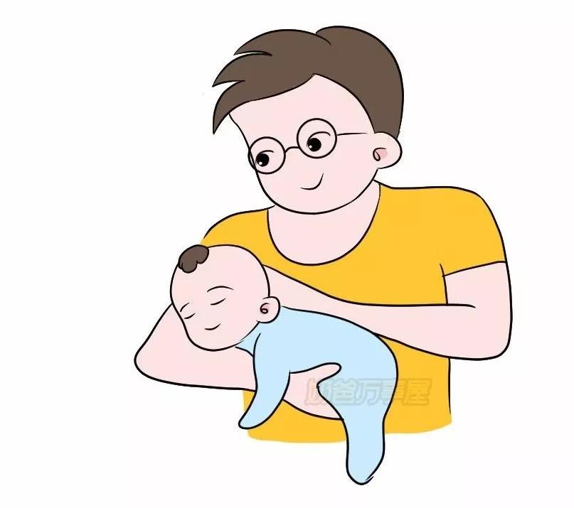 新生儿肠绞痛夜啼 几个步骤学会飞机抱