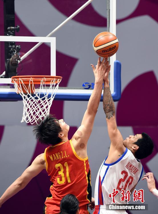 2018年亚运会 中国男篮首秀险胜菲律宾