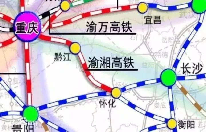 璧山高铁规划图2018