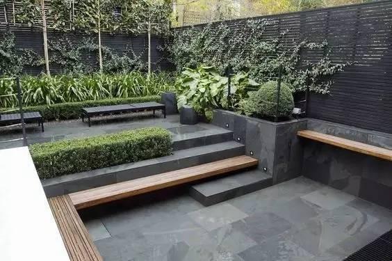 坡式花园设计图
