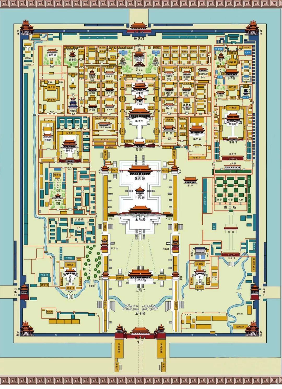 1-故宫平面图