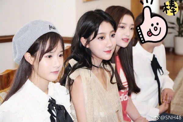 SNH48克罗地亚拍MV 李艺彤受邀参观当地商会