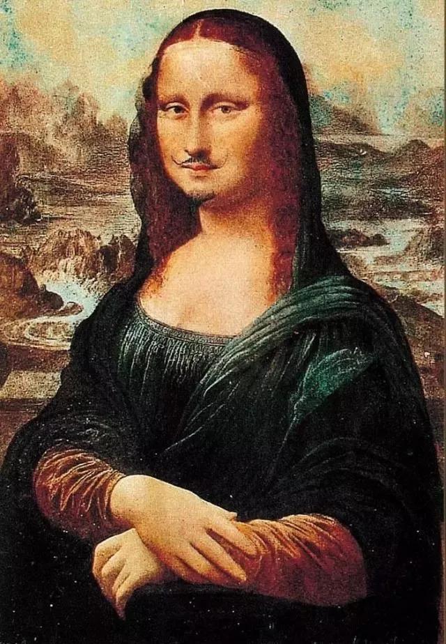 杜桑 带胡须的蒙娜丽莎 达达主义图片