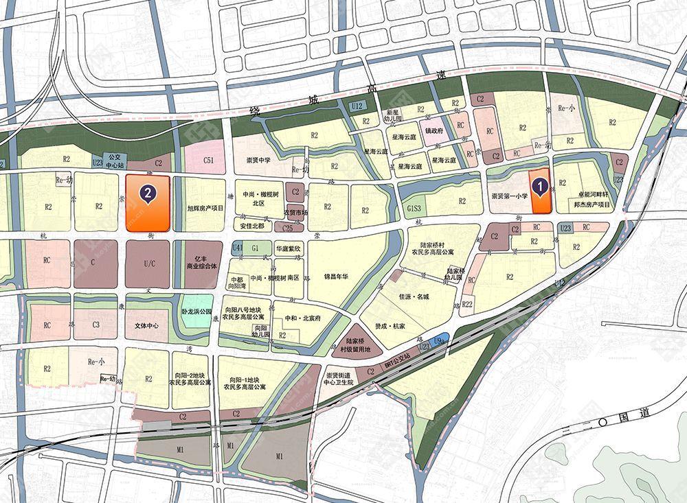 瓶窑新城规划图