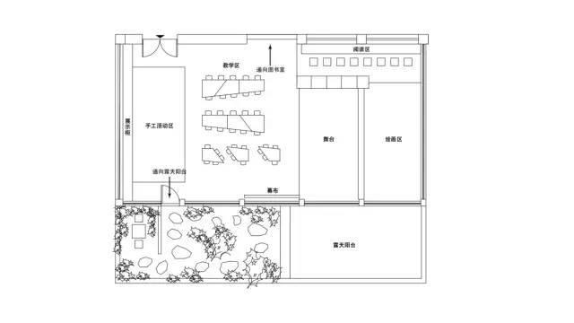 梦想教室平面图