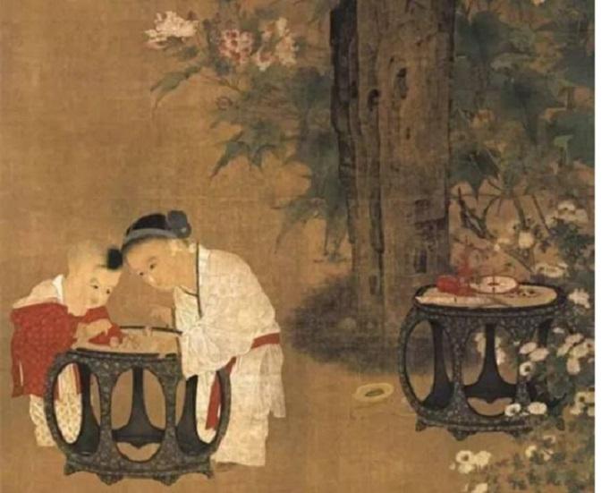 从《秋庭婴戏图》看宋朝孩子如何玩游戏