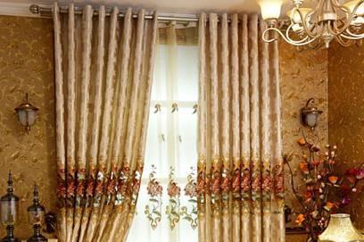关于窗帘的用料,尺寸,安装,挂法,看这一篇就够了