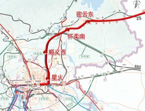 京沈高铁北京段,你再不快点儿修,承德高铁就连到内蒙去了图片