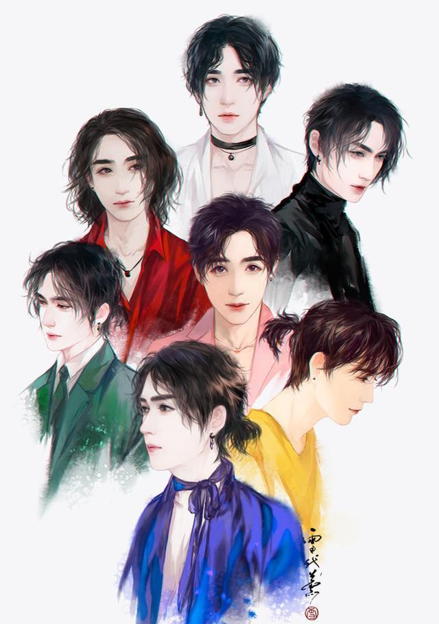 「镇魂」手绘:居老师朱一龙