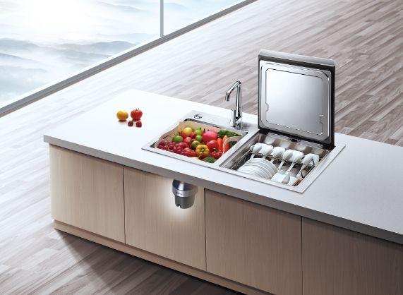美的f3水槽洗碗机图片