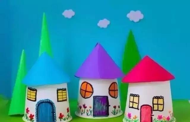 幼儿园亲子手工制作,创意无限!图片
