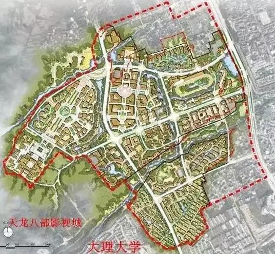大理王宫项目总体规划图
