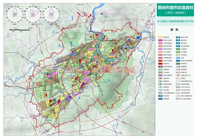 赣州市2035年城市总体规划出炉 与