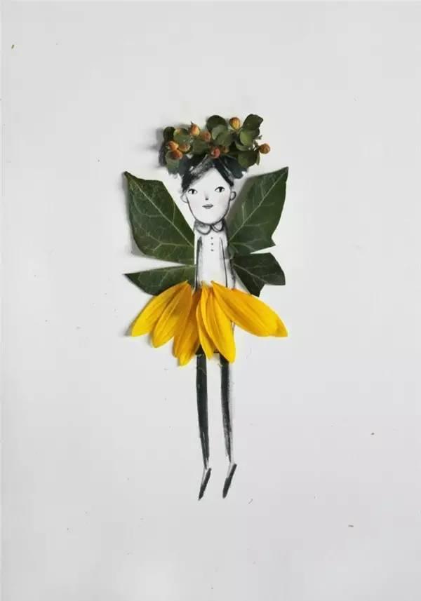 n款幼儿园秋季创意手工 主题环创 树叶粘贴画!