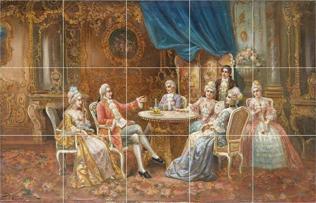 """18世纪欧洲宫廷_法国宫廷18世纪的""""时尚圈""""_沙龙"""