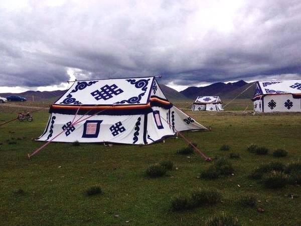 西藏路边的白色帐篷,一定不要随便进入,小心要你放三年牦牛