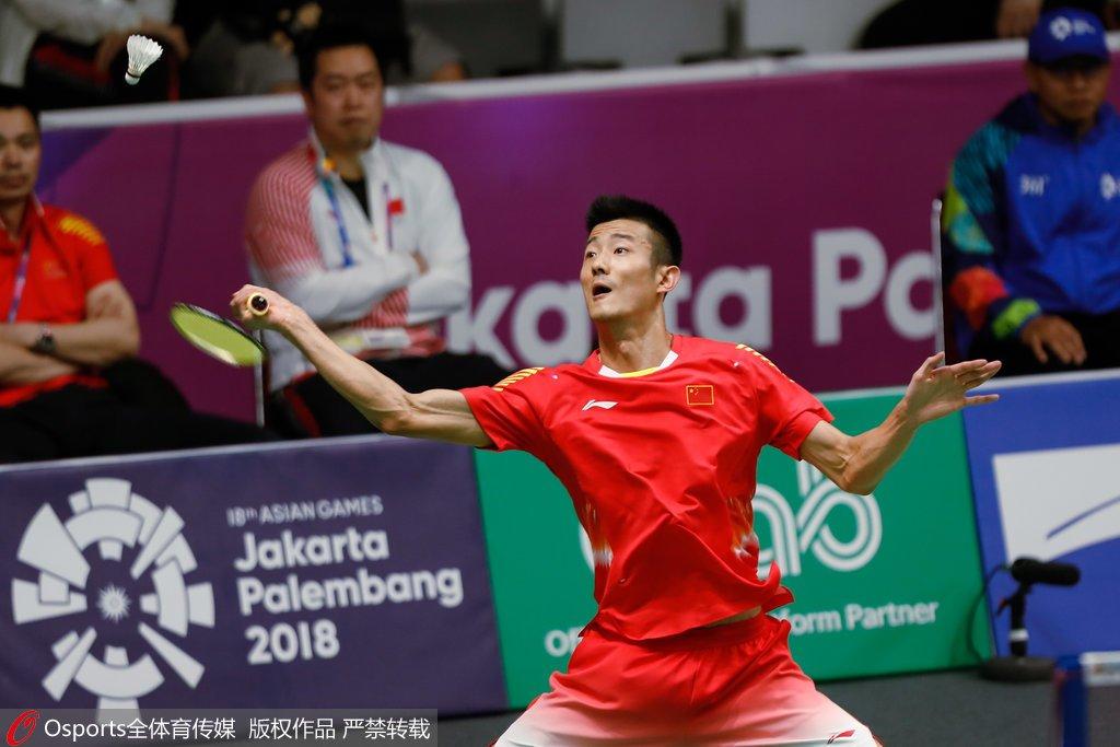 亚运谌龙克服挑战力挫韩国新秀 强势进男单八强