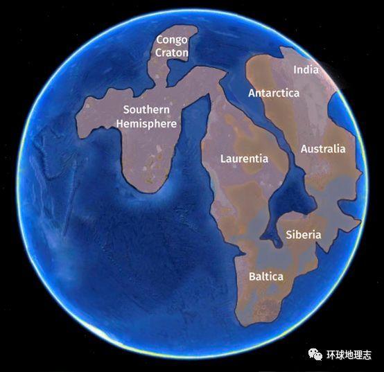 科技 正文  ◤地球冰封想象图@wikipedia 注释:由于主要冰盖证据在