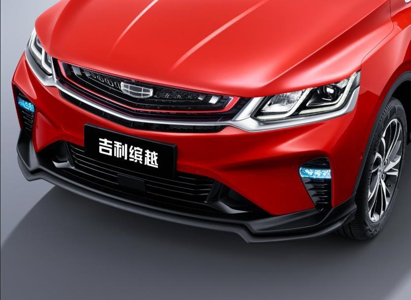 撞色车身设计 采用全新车标 吉利缤越运动款官图曝光