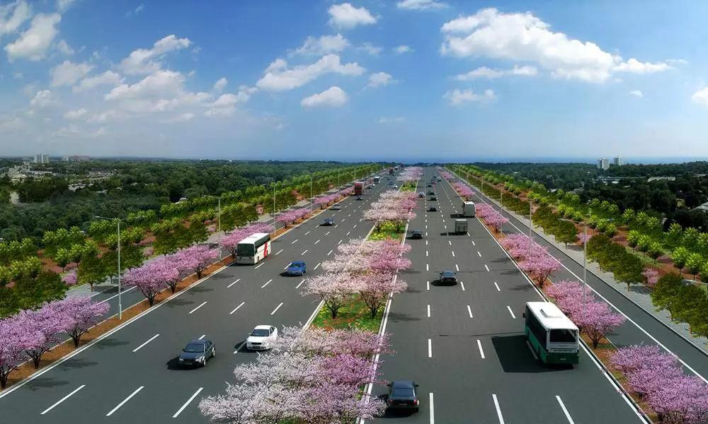 阜阳再修一条城市主干路 从城南到阜合产业园区 瞬间 到达