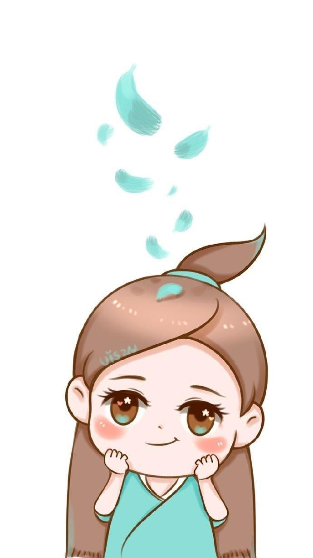 惊天小可爱萌然出现,虫子手绘q版赵丽颖碧瑶,粉丝:非常喜欢.