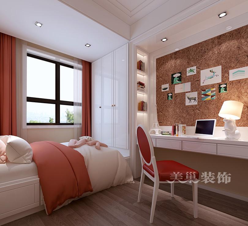 郑州美巢龙翔嘉苑现代装修效果图150平四室两厅案例