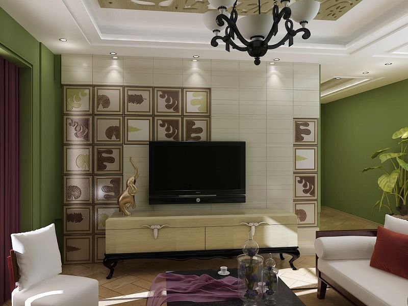 这样的背景墙才是才是当下最流行的,你们家装修了吗?