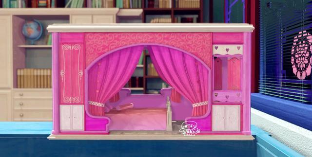 叶罗丽主人为娃娃们准备的家,孔雀住别墅,菲灵和茉莉的最罕见图片